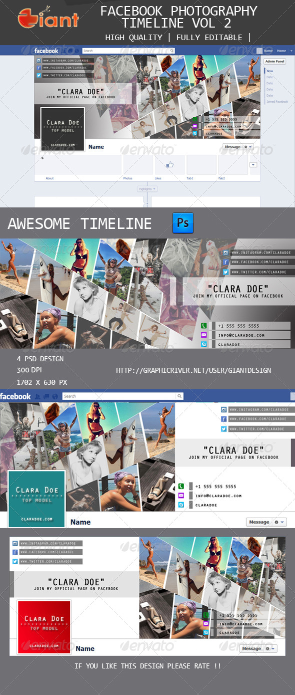 GraphicRiver Fb Photography Timeline Vol 2 5586977
