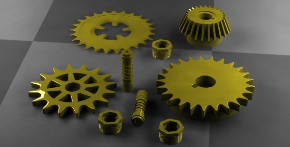 3DOcean Cogwheel 5587085