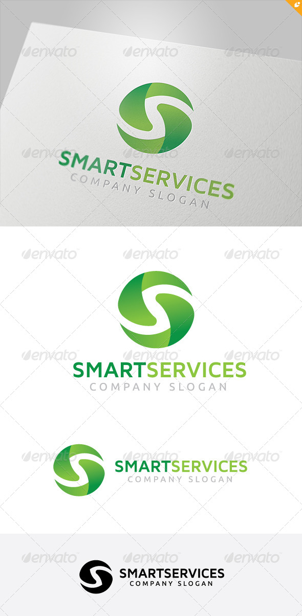 GraphicRiver Smart Services Logo 1 5587186