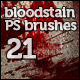 21 Bloodstain Photoshop Brushes - GraphicRiver Item for Sale