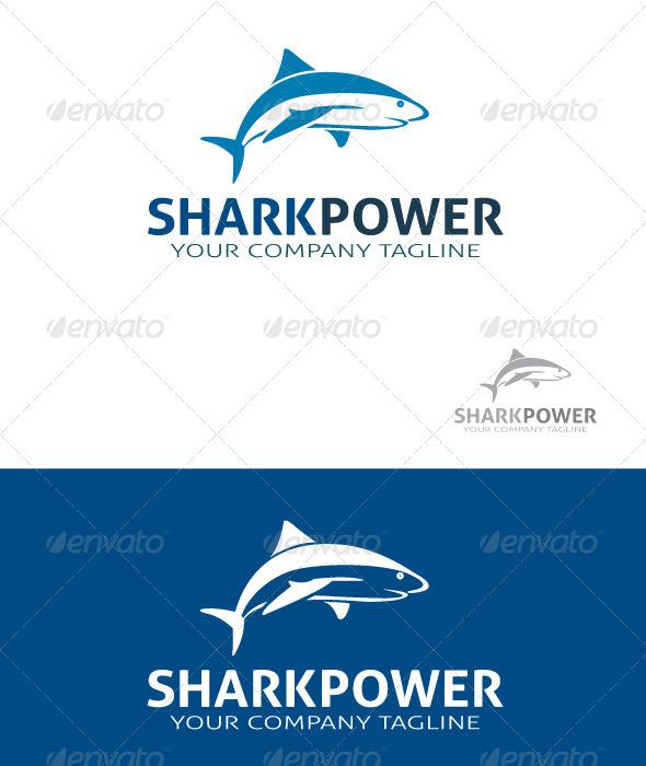 GraphicRiver Sharkpower Logo 5587282