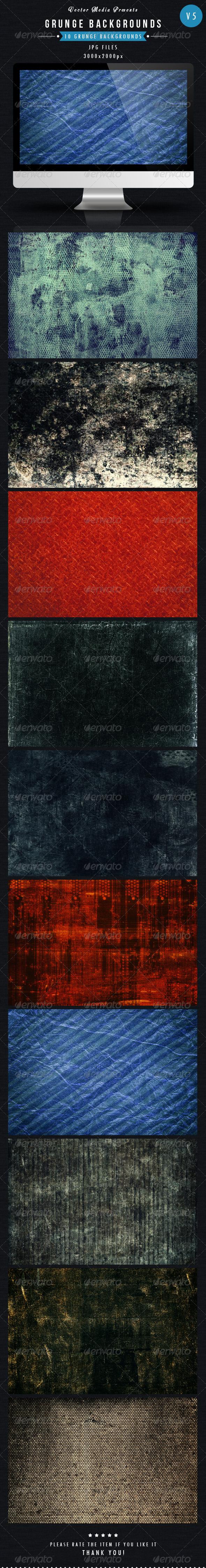 Grunge Backgrounds Vol 5