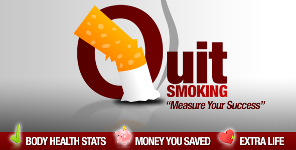 My Quit Smoking Plugin for Wordpress is specially designed for smokers who own a Wordpress powered blog. The plugin displays shows your quit smoking cessation p