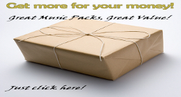 Music Packs (get more, pay less and save your money!)