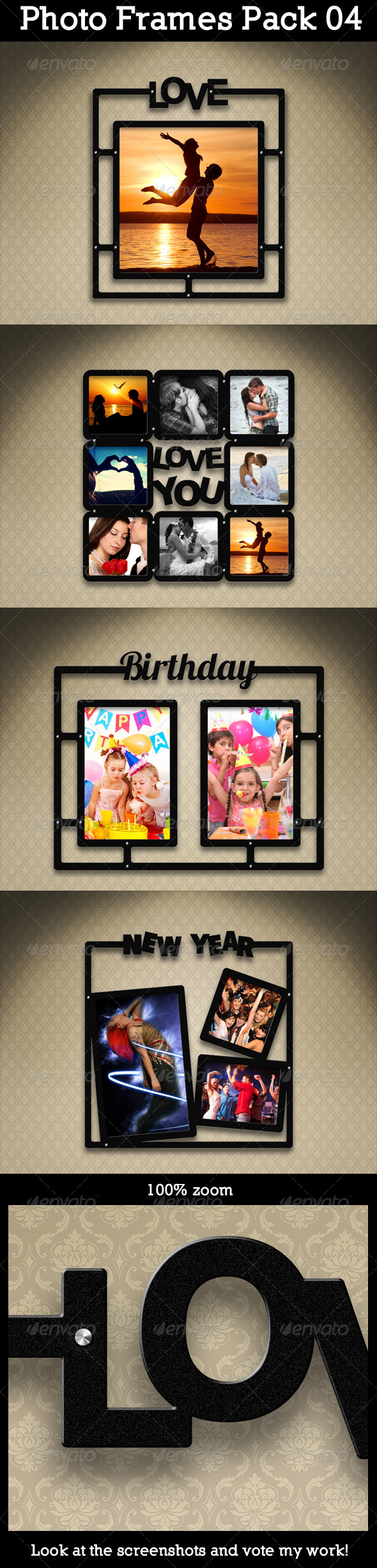 GraphicRiver Photo Frames Pack 04 5571681