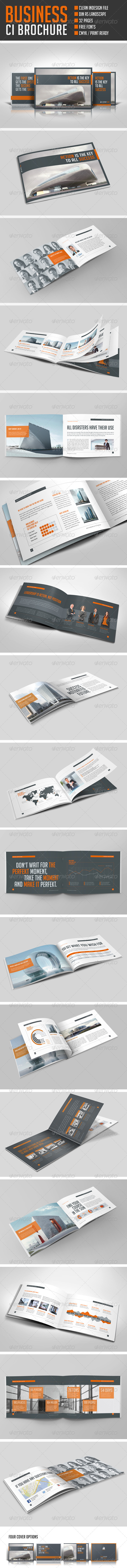 Business Horizontal Brochure - Corporate Brochures