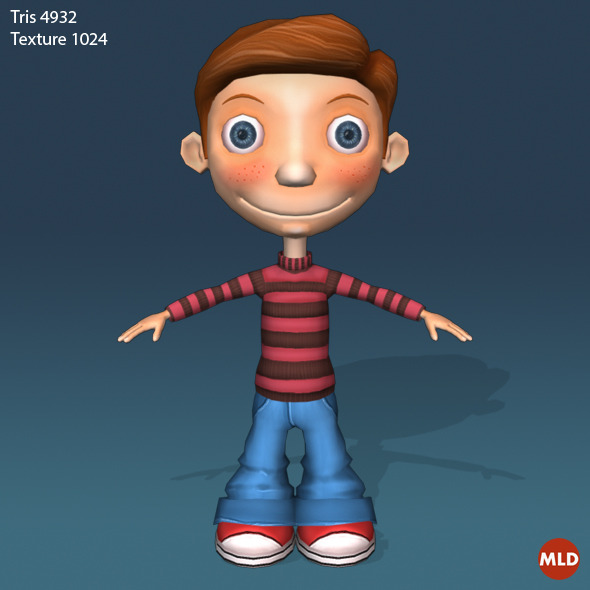 3DOcean Cartoon Character 5589022