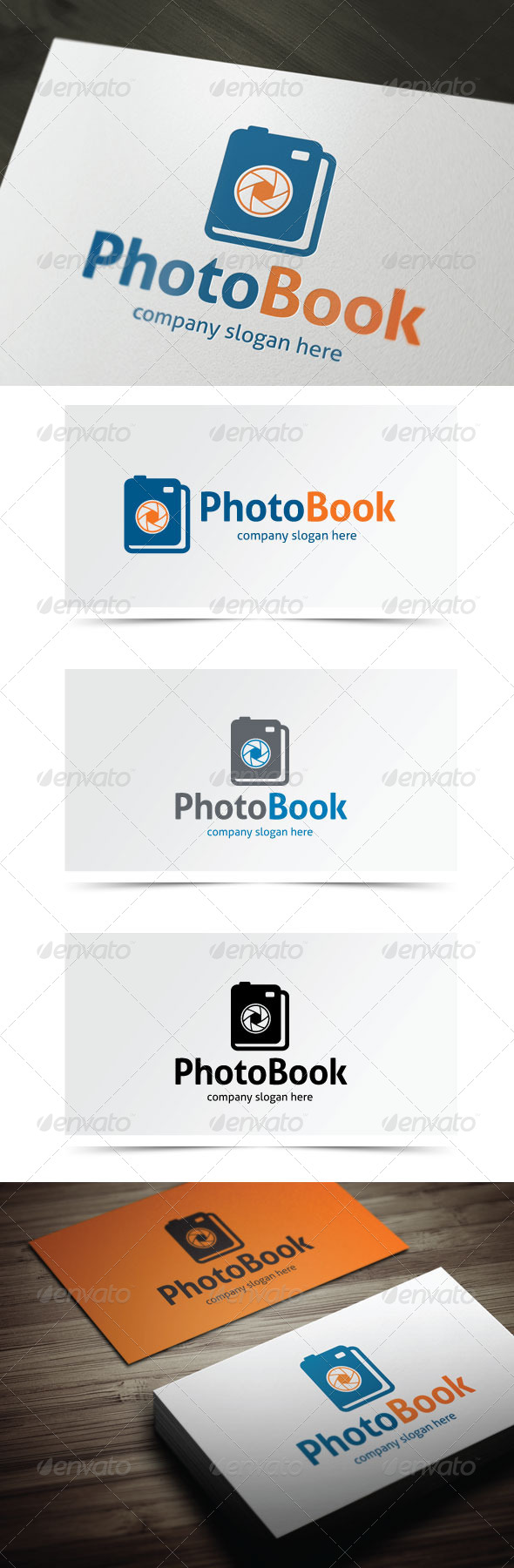 GraphicRiver Photo Book 5589566