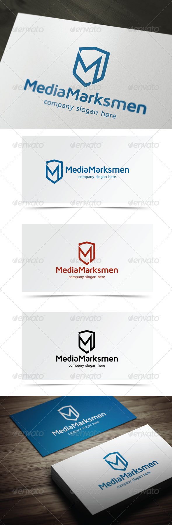 GraphicRiver Media Marksmen 5589736