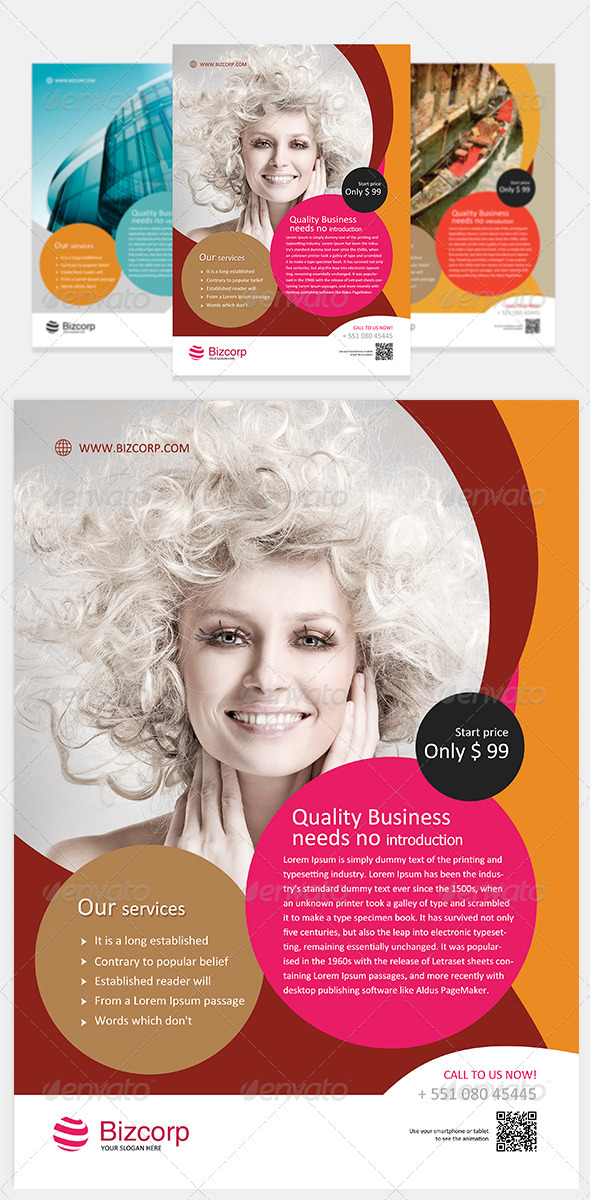 GraphicRiver Multipurpose Corporate Flyer Vol 4 5589744