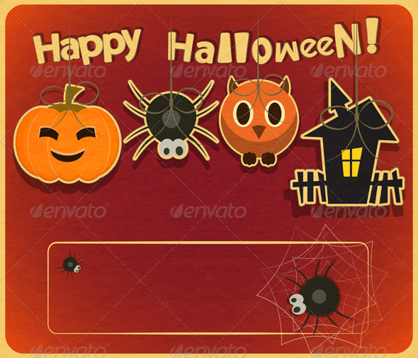 GraphicRiver Halloween Card 5589975
