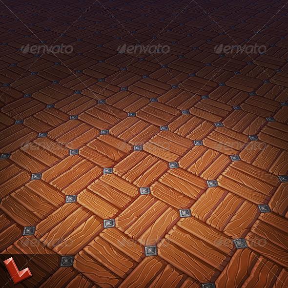 3DOcean Wooden Floor Tile 04 5590401