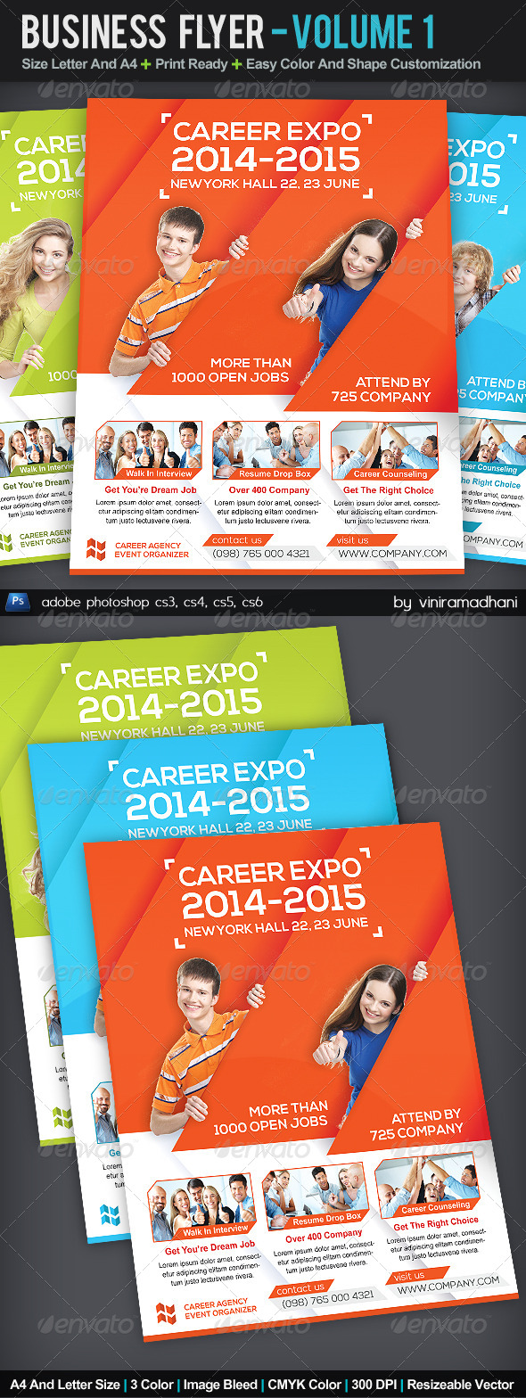 GraphicRiver Business Corporate Flyer Volume 1 5590562