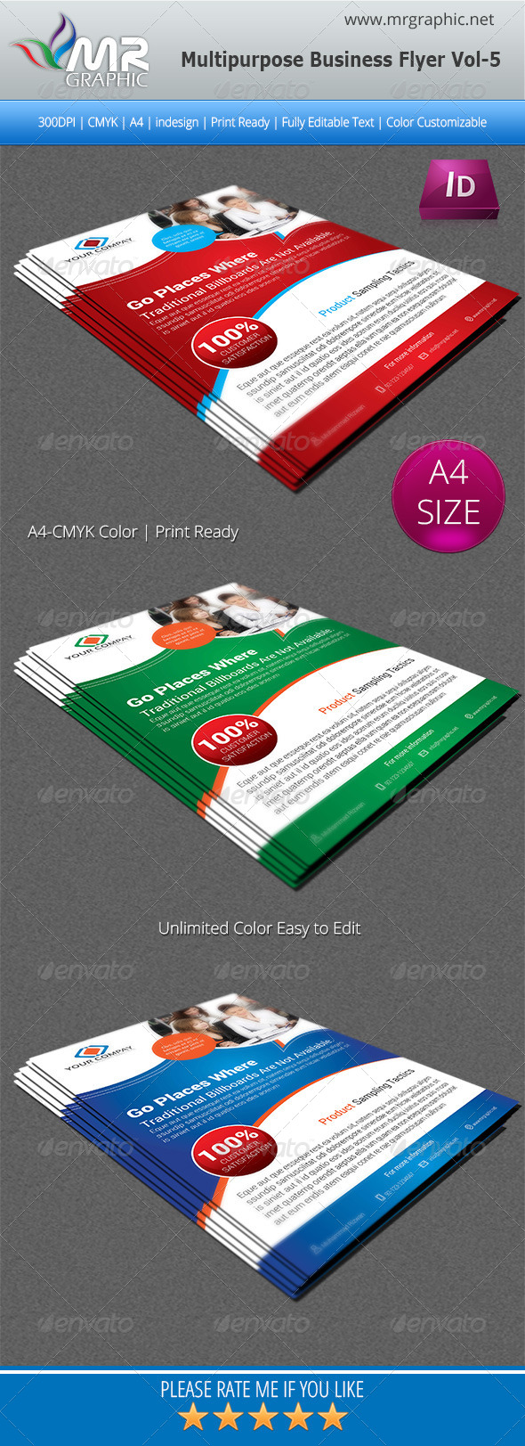 GraphicRiver Multipurpose Business Flyer Vol-05 5540236