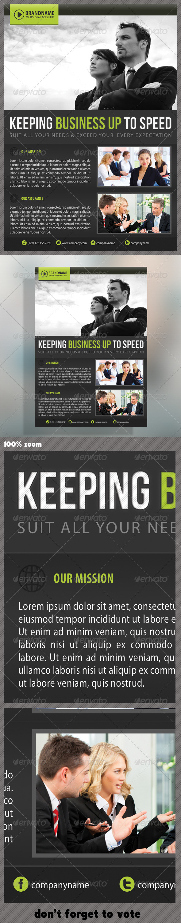 Corporate Product Flyer 20 - Corporate Flyers