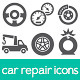 Car Repair Icons - GraphicRiver Item for Sale