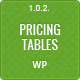 Responsive CSS3 Pricing Tables - WordPress Plugin - CodeCanyon Item for Sale