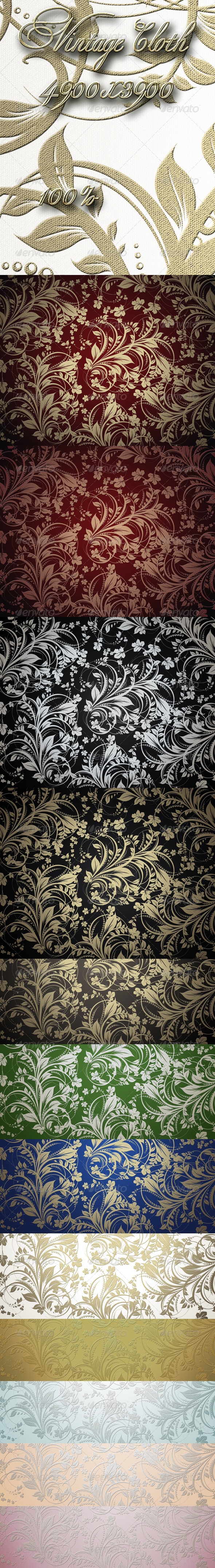 GraphicRiver Vintage Cloth 5591194