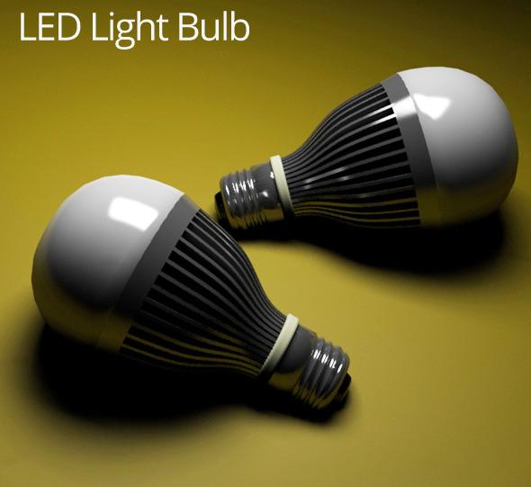 3DOcean LED Light Bulb 5591273