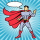 Superhero Comic Style Illustration - GraphicRiver Item for Sale