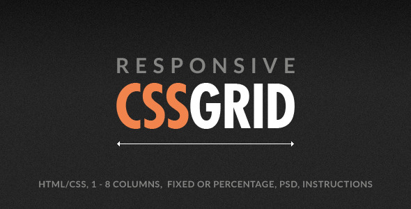 CSS Grid. Responsive CSS Grid, built for web and mobile. CSS Grid is a valid HTML5, responsive CSS Grid from 1 to 8 columns. It works on iPhone, iPad, Google A