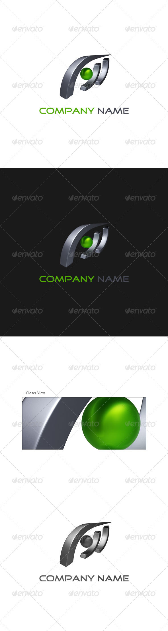 GraphicRiver 3D Abstract Logo 001 574481