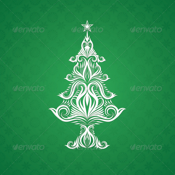 GraphicRiver Christmas Tree Ornament 5592227