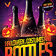 Halloween Bottles Party Flyer - GraphicRiver Item for Sale