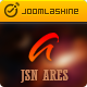 JSN Ares - Creative Joomla Portfolio Template