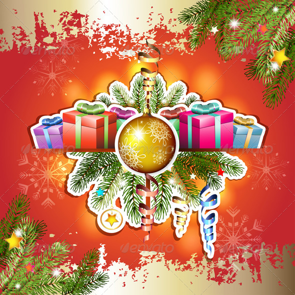 GraphicRiver Christmas Decorations and Gifts 5593214