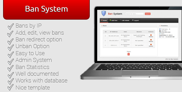 Download Ban System nulled download
