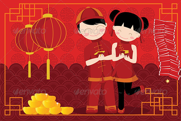 GraphicRiver Chinese New Year Celebration 5593368