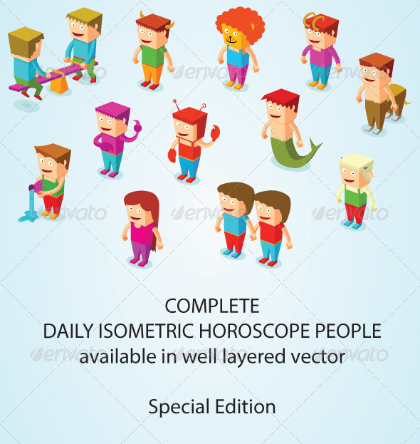 Isometric Horoscope People