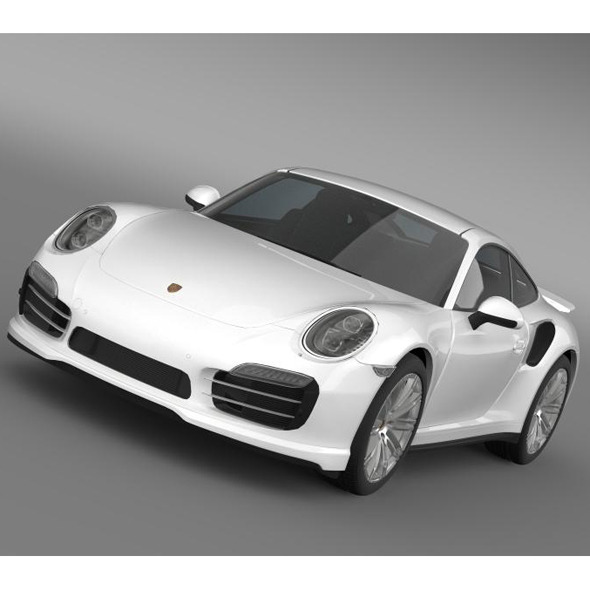 Porsche 911 Turbo 2013 - 3DOcean Item for Sale