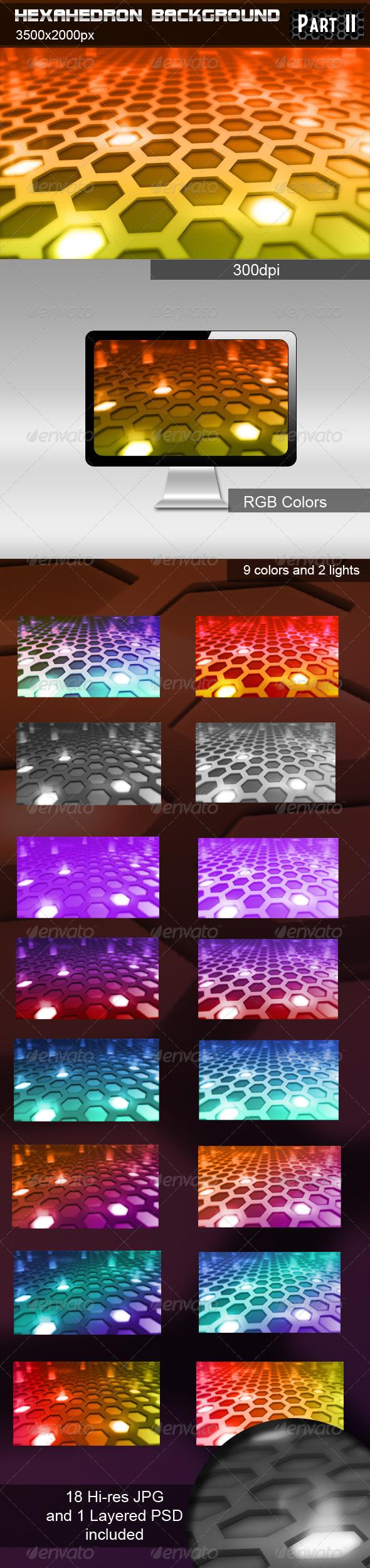 Hexahedron Background part 2 - Tech / Futuristic Backgrounds