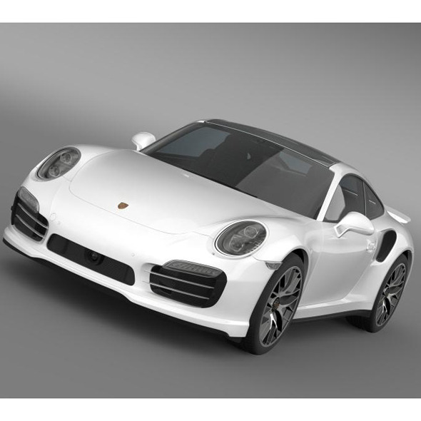 Porsche 911 Turbo S 2013 - 3DOcean Item for Sale