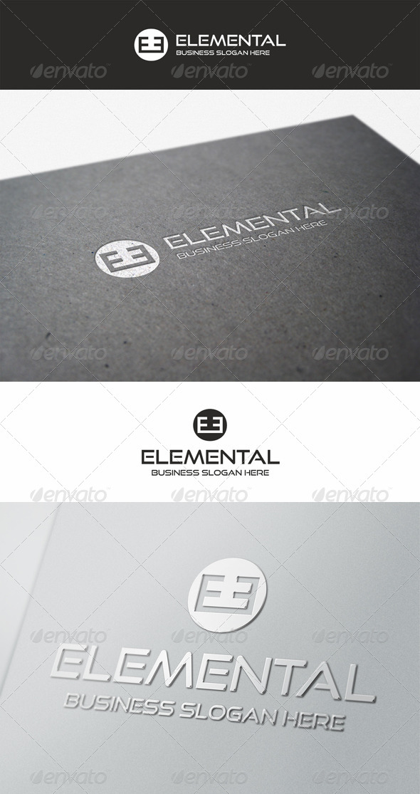 GraphicRiver Elemental Logo Brand 5594727