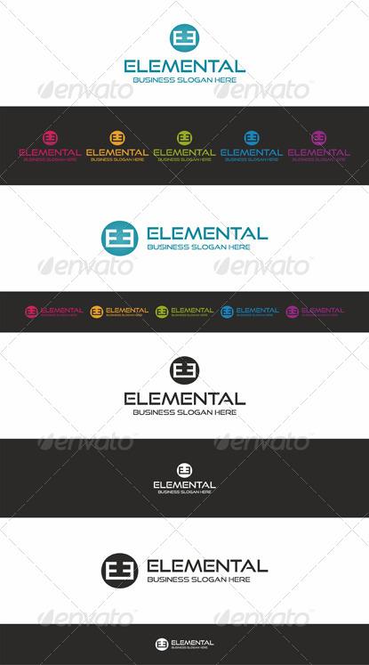 Elemental Logo Brand