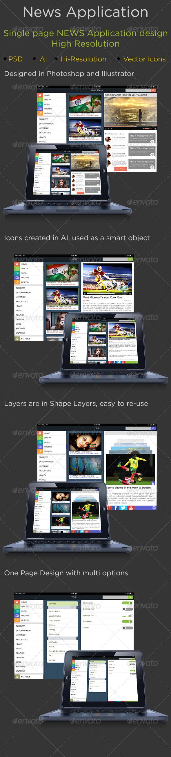 GraphicRiver News Application 5584117