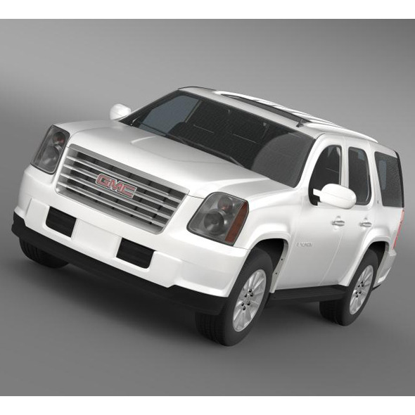 GMC Yukon Hybrid 2008 - 3DOcean Item for Sale
