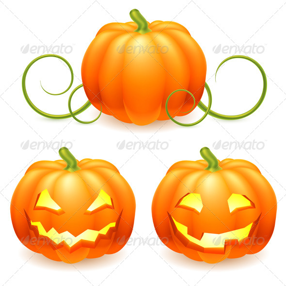 GraphicRiver Halloween Pumpkin 5595546