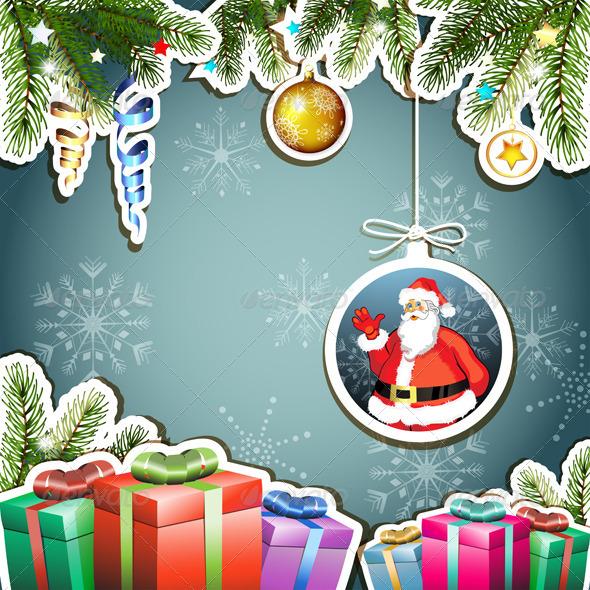 GraphicRiver Christmas Card 5595593