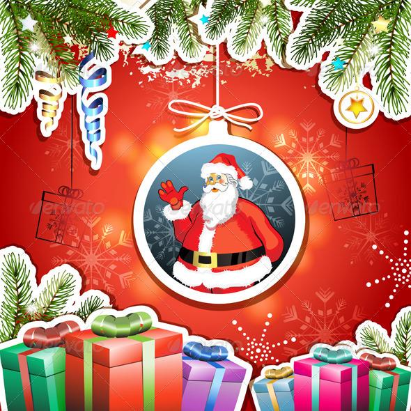 GraphicRiver Christmas Card 5595595