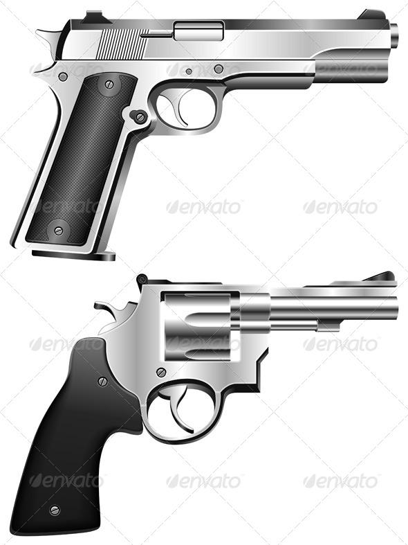 GraphicRiver Guns 5595648