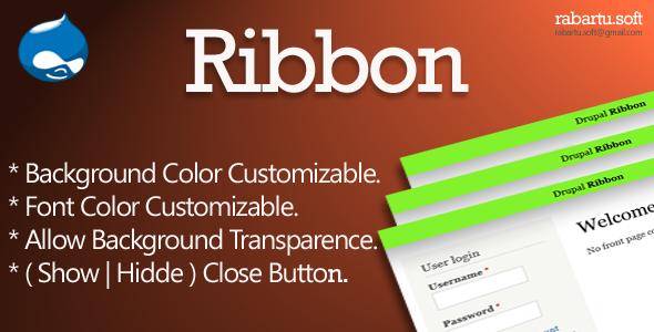 Drupal Ribbon (Drupal) | CodeCanyon
