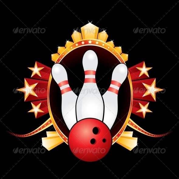 GraphicRiver Bowling Design 5595896