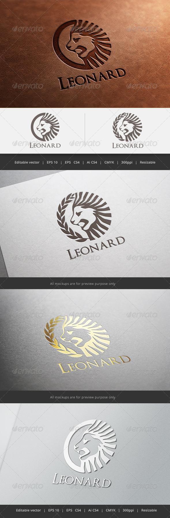 GraphicRiver Leonard Logo 5596891