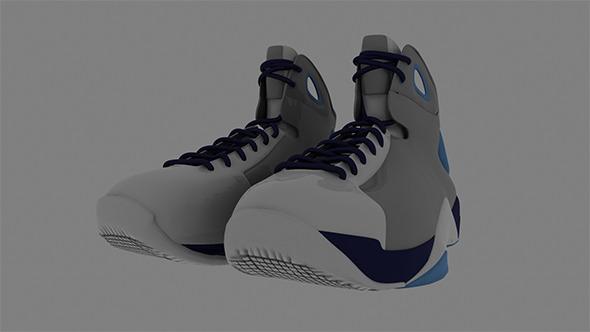 Nike Realistic Sports Shoe Model - 3DOcean Item for Sale