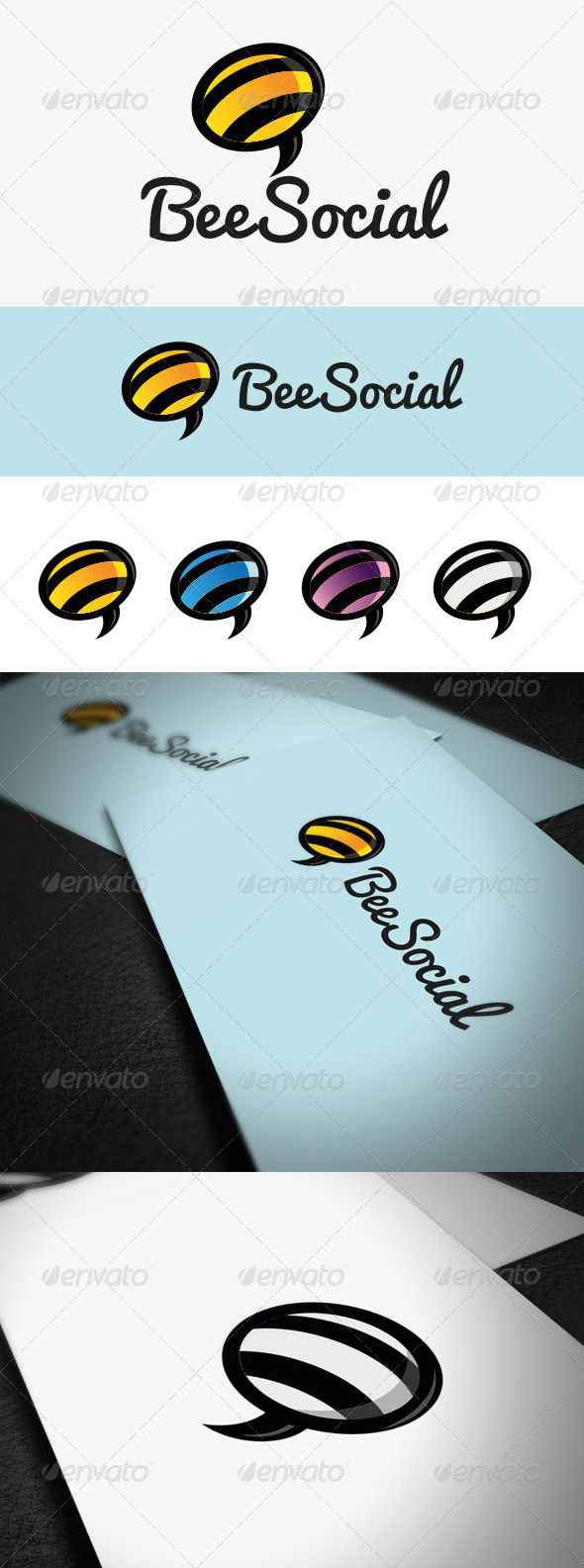 GraphicRiver Bee Social 5598475