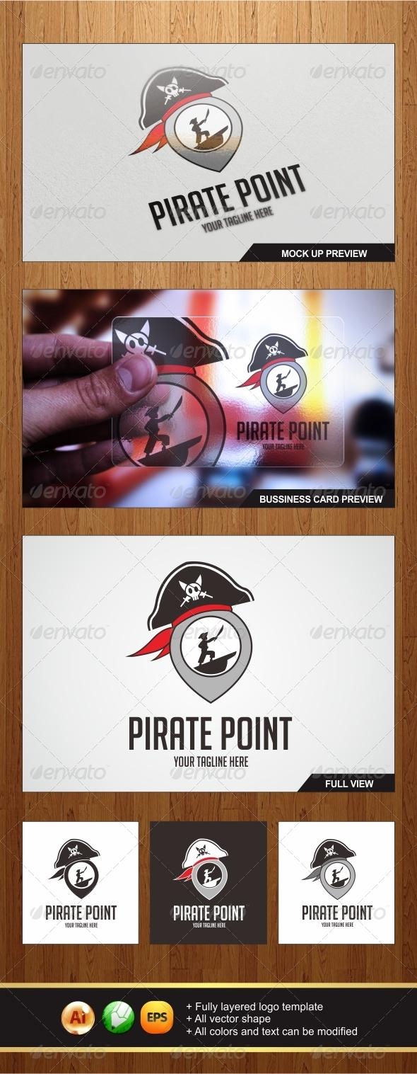 GraphicRiver Pirate Point Logo 5599333